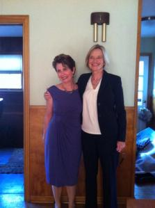 Nancy and me just prior a few days prior to her diagnosis of advanced breast cancer